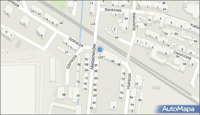 Świętochłowice, Hutnicza, 11A, mapa Świętochłowice