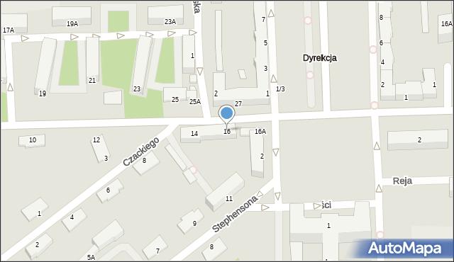 Chełm, I Pułku Szwoleżerów, 16, mapa Chełma