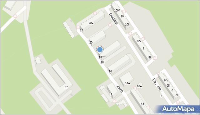 Gdynia, Ikara, 18, mapa Gdyni