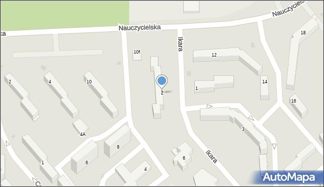 Grudziądz, Ikara, 2, mapa Grudziądza