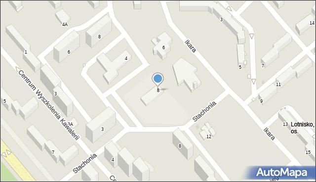 Grudziądz, Ikara, 8, mapa Grudziądza