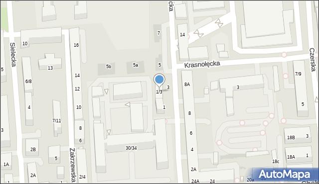 Warszawa, Iwicka, 1/3, mapa Warszawy