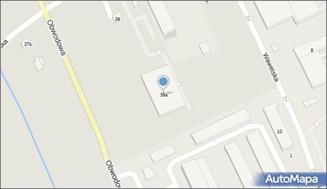 Dobczyce, Jagiellońska, 39a, mapa Dobczyce