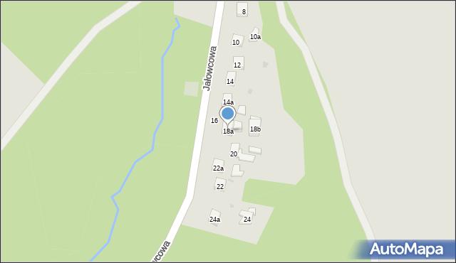 Dobczyce, Jałowcowa, 18a, mapa Dobczyce
