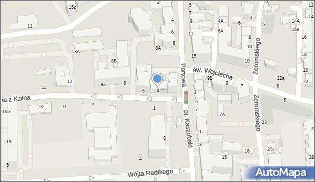 Gdynia, Jana z Kolna, 4, mapa Gdyni