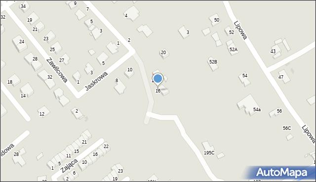 Grudziądz, Jaskrowa, 16, mapa Grudziądza