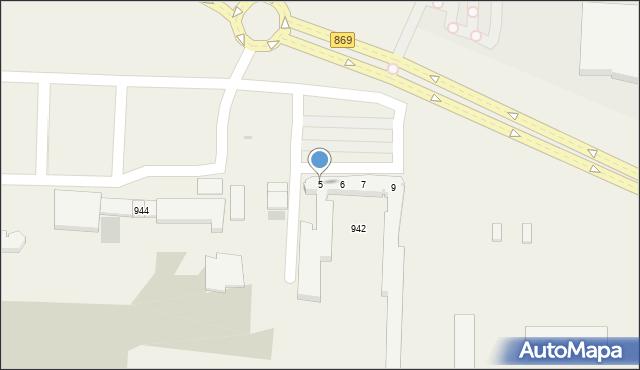 Jasionka, Jasionka, 5, mapa Jasionka