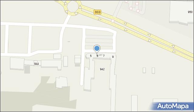 Jasionka, Jasionka, 6, mapa Jasionka