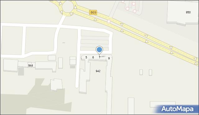 Jasionka, Jasionka, 7, mapa Jasionka