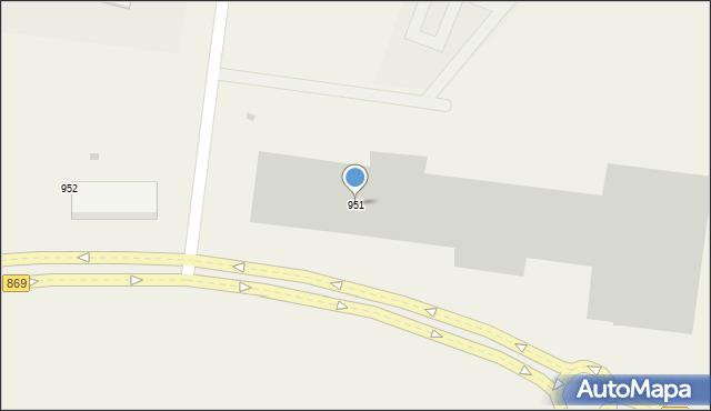 Jasionka, Jasionka, 951, mapa Jasionka
