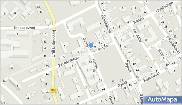 Lubaczów, Jasna, 3, mapa Lubaczów