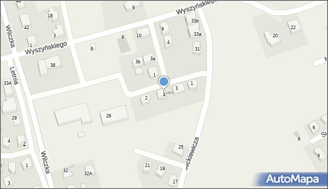 Luzino, Jastaka, ks., 4, mapa Luzino
