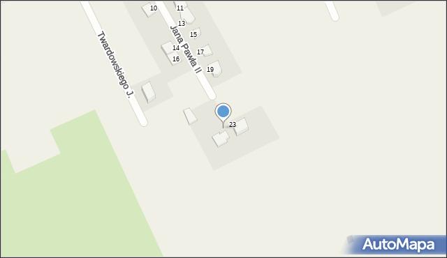 Nowa Wieś Ełcka, Jana Pawła II, 28, mapa Nowa Wieś Ełcka