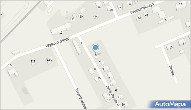 Nowa Wieś Ełcka, Jana Pawła II, 5, mapa Nowa Wieś Ełcka