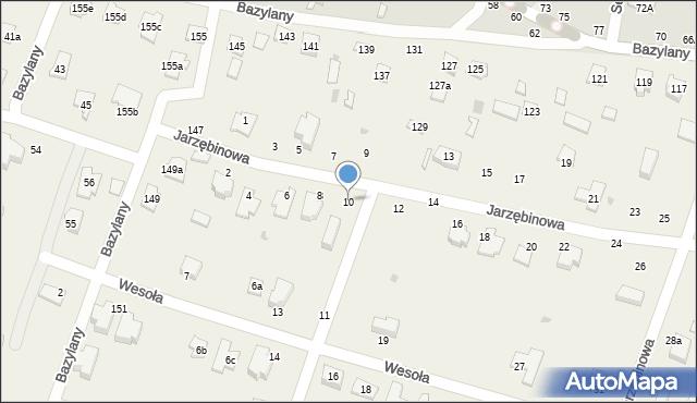 Pokrówka, Jarzębinowa, 10, mapa Pokrówka