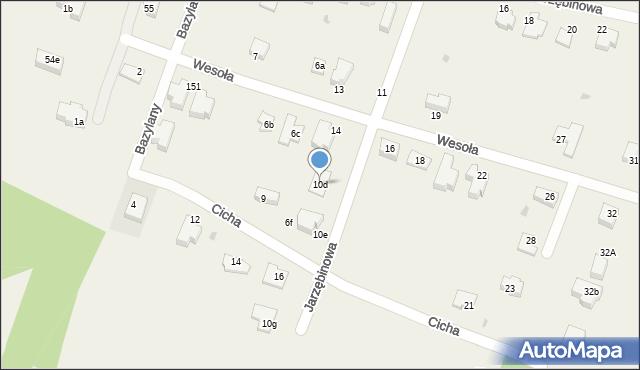 Pokrówka, Jarzębinowa, 10d, mapa Pokrówka