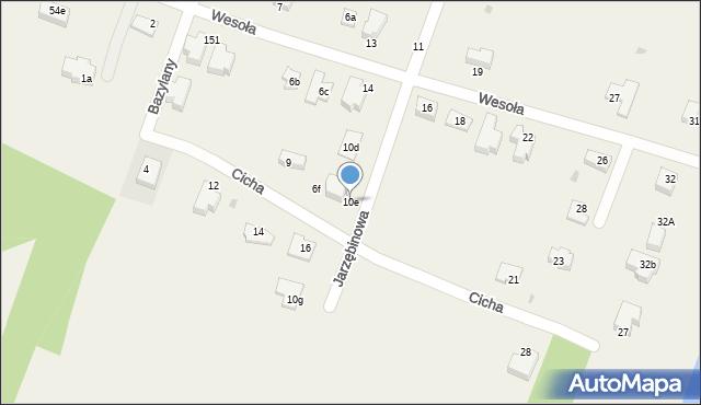 Pokrówka, Jarzębinowa, 10e, mapa Pokrówka