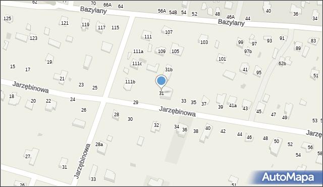 Pokrówka, Jarzębinowa, 31, mapa Pokrówka