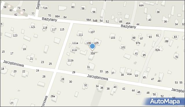 Pokrówka, Jarzębinowa, 31b, mapa Pokrówka
