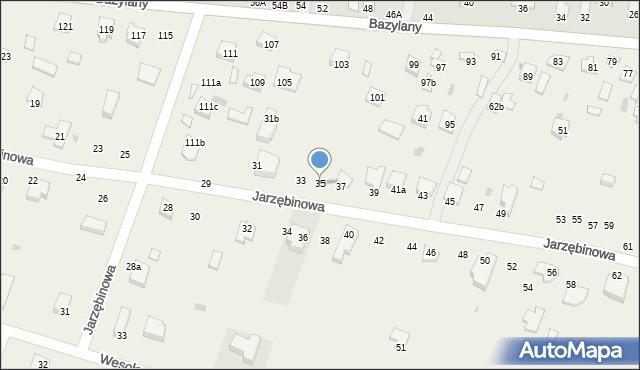 Pokrówka, Jarzębinowa, 35, mapa Pokrówka