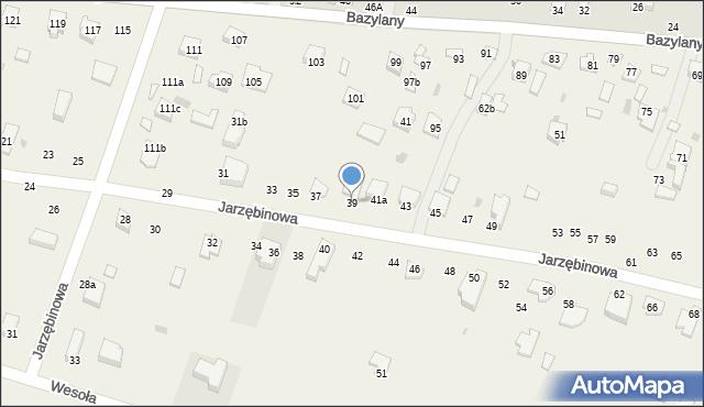 Pokrówka, Jarzębinowa, 39, mapa Pokrówka