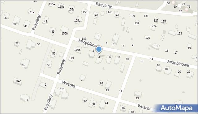 Pokrówka, Jarzębinowa, 4, mapa Pokrówka