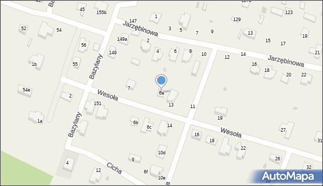 Pokrówka, Jarzębinowa, 6a, mapa Pokrówka