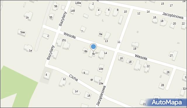 Pokrówka, Jarzębinowa, 6c, mapa Pokrówka