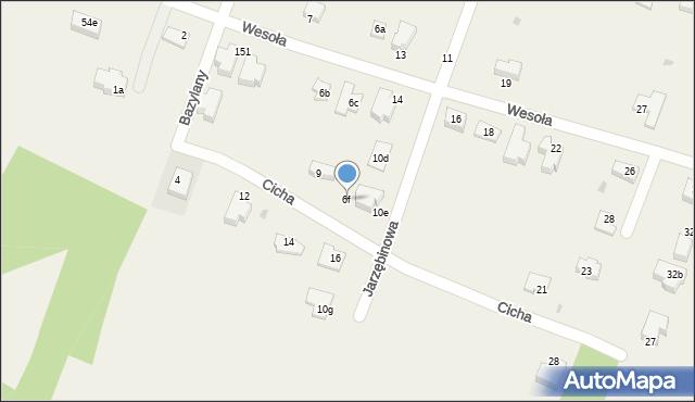 Pokrówka, Jarzębinowa, 6f, mapa Pokrówka