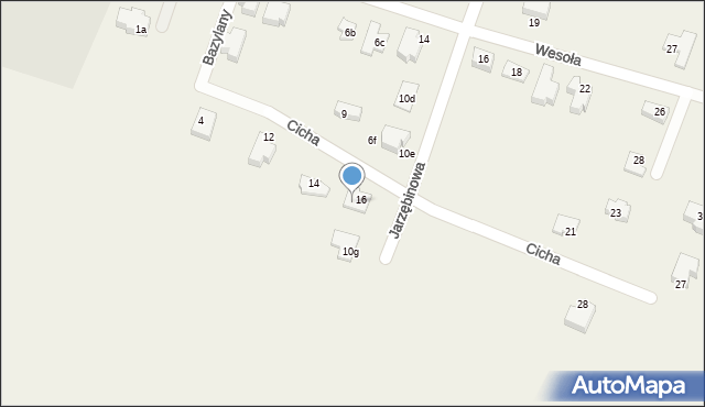 Pokrówka, Jarzębinowa, 6g, mapa Pokrówka