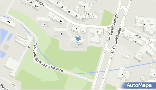 Rzeszów, Jałowego Józefa, ks., 7, mapa Rzeszów