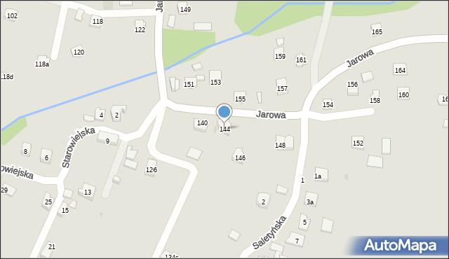 Rzeszów, Jarowa, 144, mapa Rzeszów