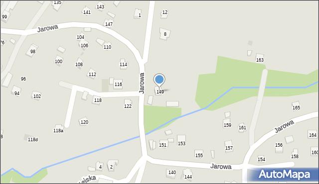 Rzeszów, Jarowa, 149, mapa Rzeszów