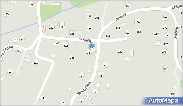Rzeszów, Jarowa, 150, mapa Rzeszów