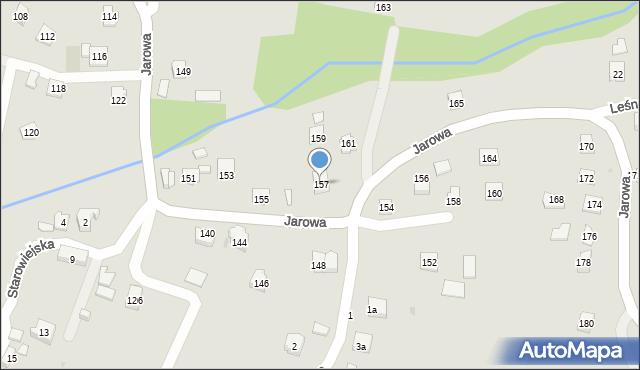 Rzeszów, Jarowa, 157, mapa Rzeszów