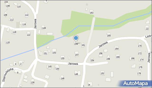 Rzeszów, Jarowa, 159, mapa Rzeszów