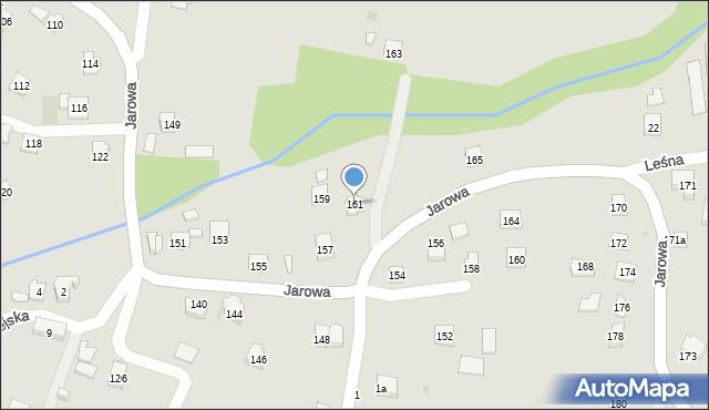 Rzeszów, Jarowa, 161, mapa Rzeszów