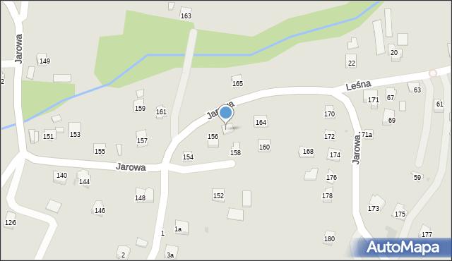 Rzeszów, Jarowa, 162, mapa Rzeszów
