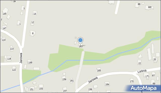 Rzeszów, Jarowa, 163, mapa Rzeszów