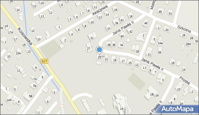 Sokołów Podlaski, Jana Pawła II, 23, mapa Sokołów Podlaski