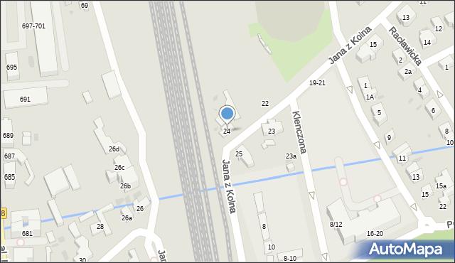 Sopot, Jana z Kolna, 24, mapa Sopotu