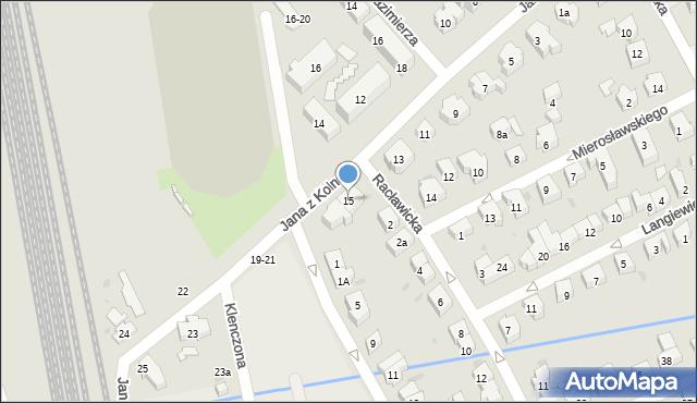Sopot, Jana z Kolna, 15, mapa Sopotu