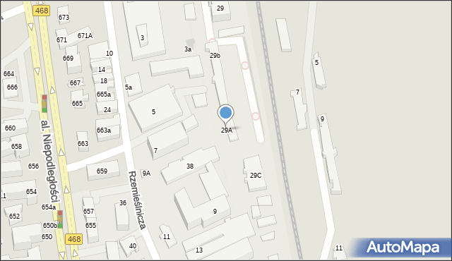 Sopot, Jana z Kolna, 29A, mapa Sopotu