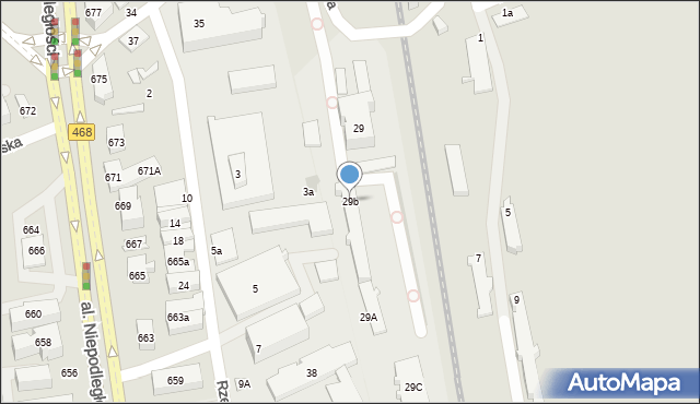 Sopot, Jana z Kolna, 29b, mapa Sopotu
