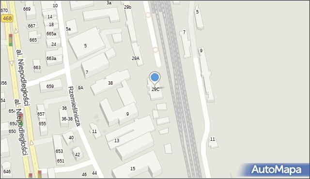 Sopot, Jana z Kolna, 29C, mapa Sopotu