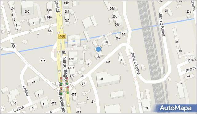 Sopot, Jana z Kolna, 30, mapa Sopotu
