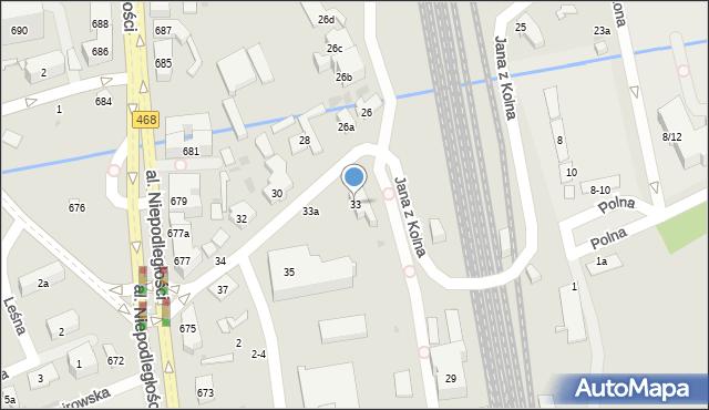 Sopot, Jana z Kolna, 33, mapa Sopotu