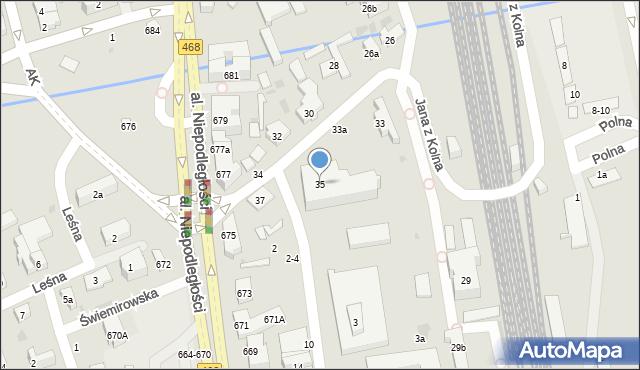 Sopot, Jana z Kolna, 35, mapa Sopotu