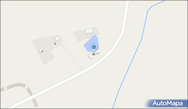 Sychowo, Jana Pawła II, 60, mapa Sychowo