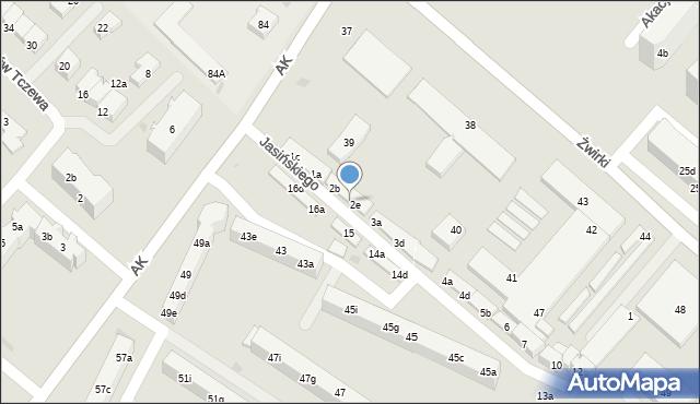 Tczew, Jasińskiego Jakuba, 2d, mapa Tczew